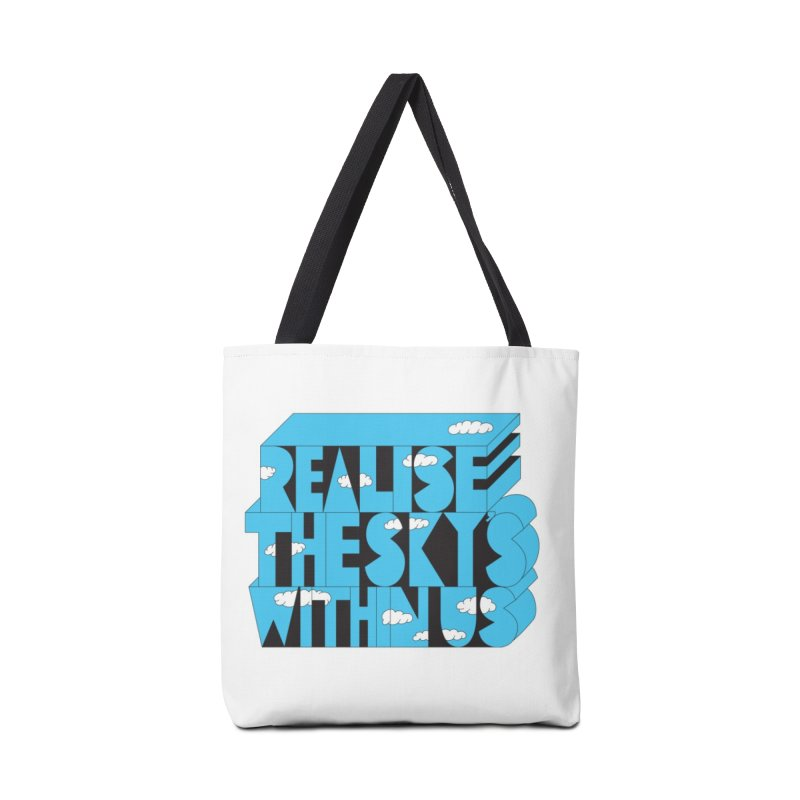 Realise The Sky's Within Us Accessories Tote Bag Bag by Jeremyville