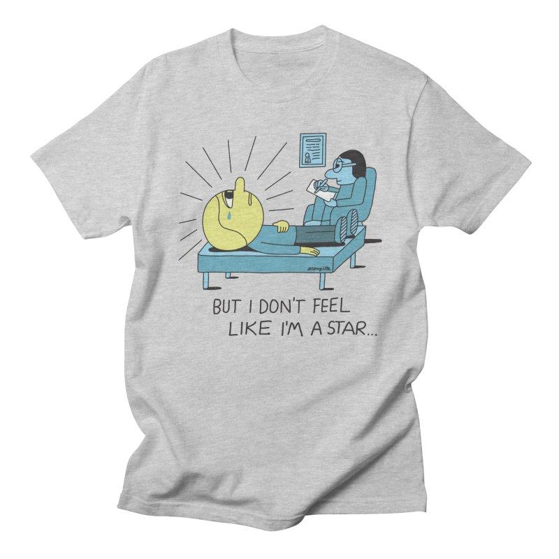 But I Don't Feel Like I'm a Star Men's Regular T-Shirt by Jeremyville