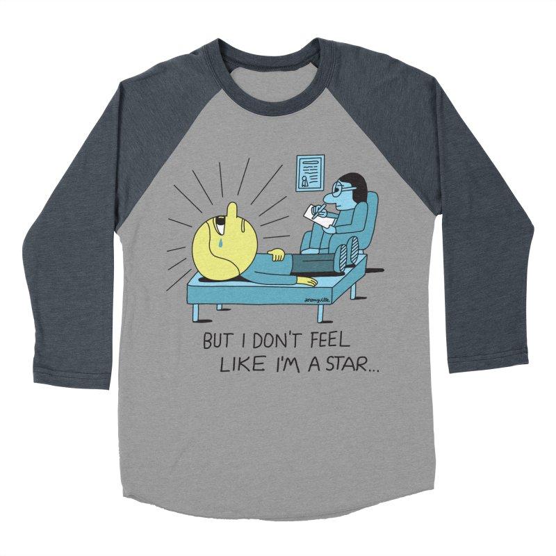 But I Don't Feel Like I'm a Star Men's Baseball Triblend Longsleeve T-Shirt by Jeremyville