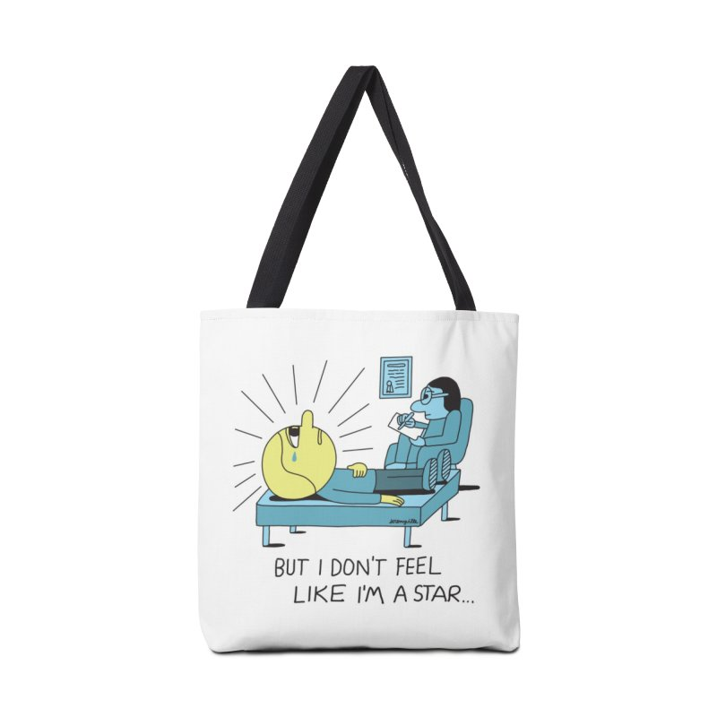 But I Don't Feel Like I'm a Star Accessories Tote Bag Bag by Jeremyville