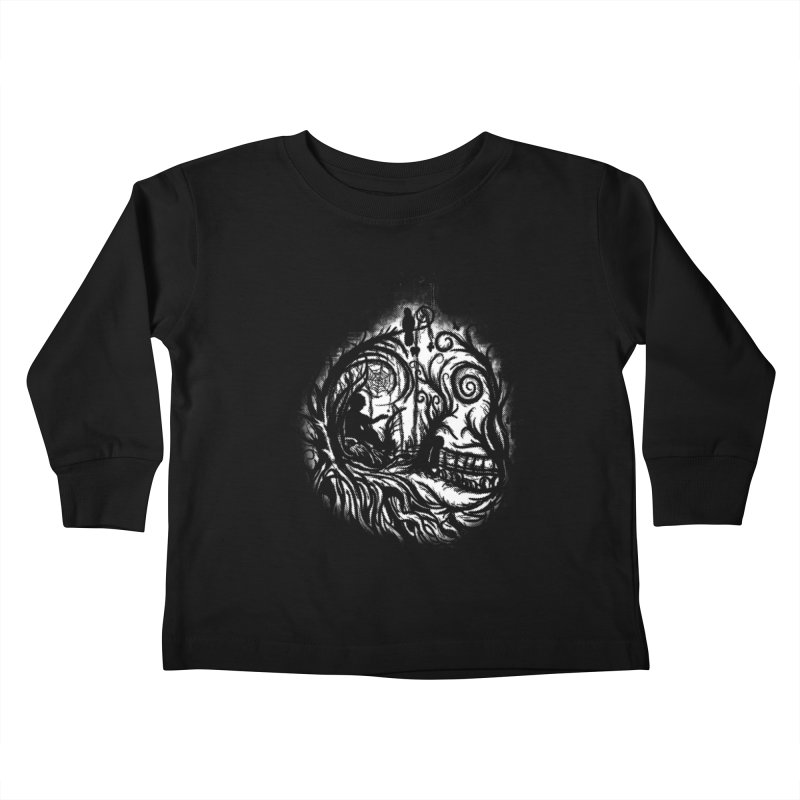 My Secret Place Kids Toddler Longsleeve T-Shirt by Jerome Aquino