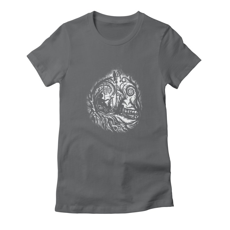 My Secret Place Women's Fitted T-Shirt by Jerome Aquino