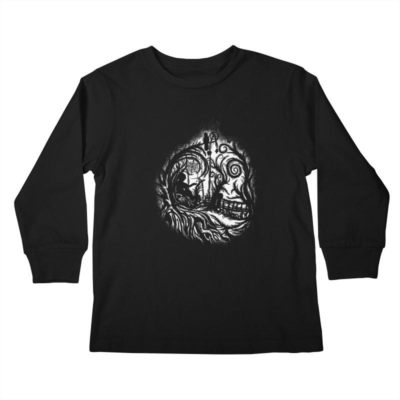 My Secret Place Kids Longsleeve T-Shirt by Jerome Aquino