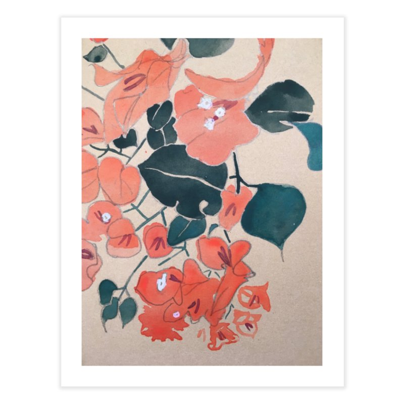 Bougainvillea Home Fine Art Print by Jess Love