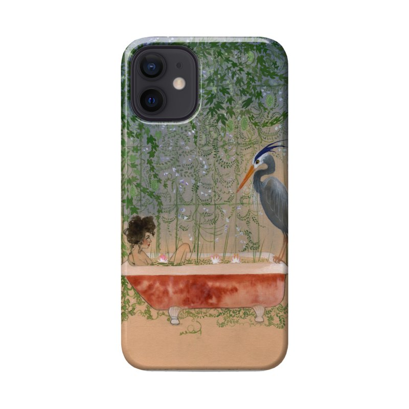 Leda and the Heron Accessories Phone Case by Jess Love