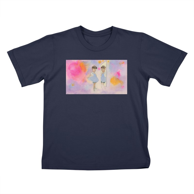 """Boyhood"" Kids T-Shirt by Jess Love"