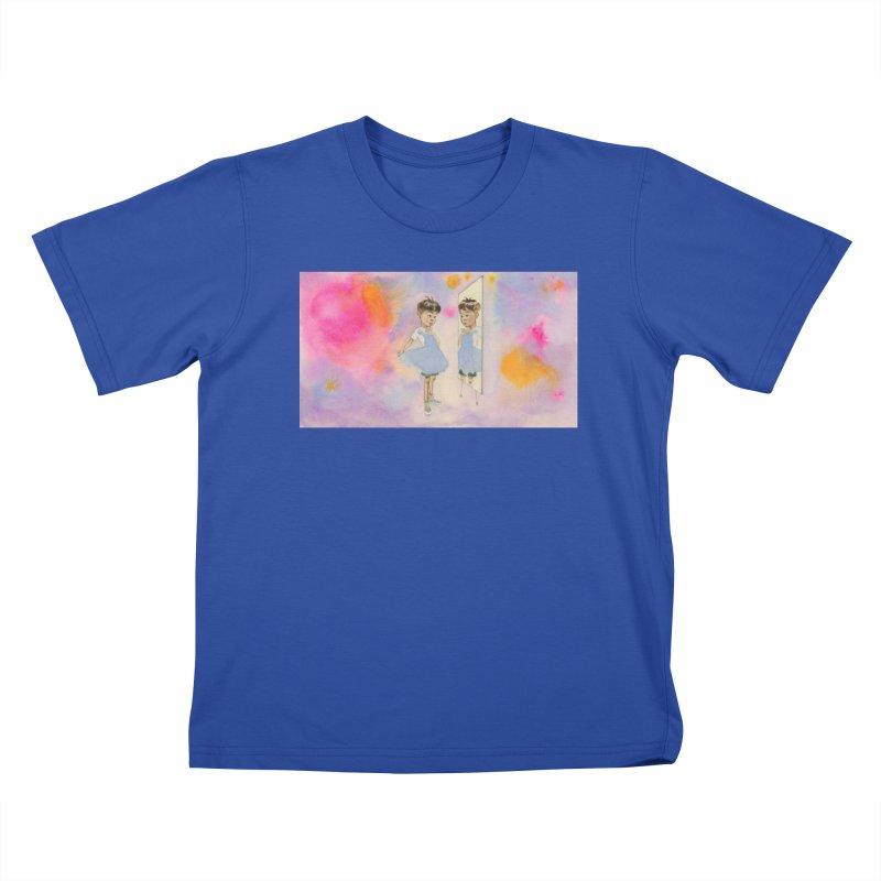 """Boyhood"" Kids T-Shirt by Jess Love"