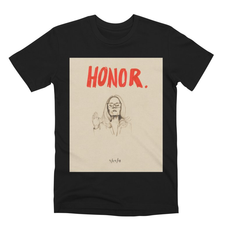 HONOR Men's Premium T-Shirt by Jess Love