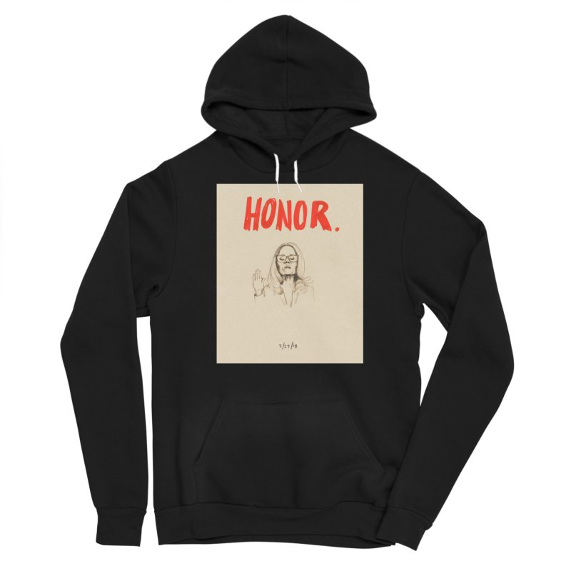 HONOR Men's Sponge Fleece Pullover Hoody by Jess Love