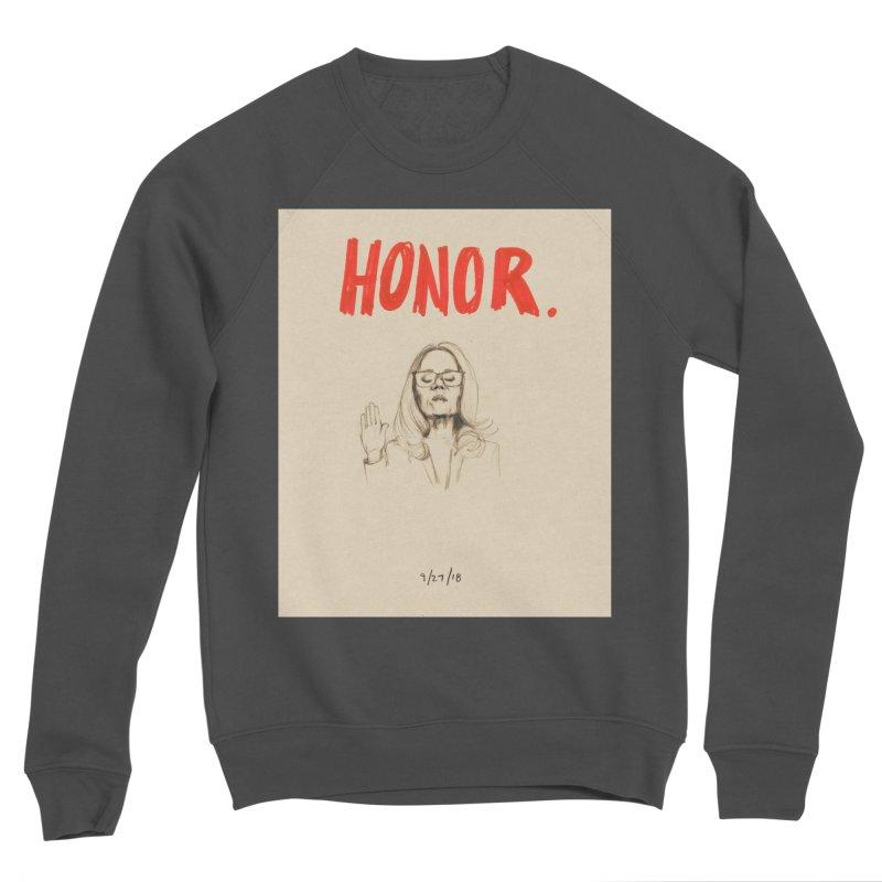 HONOR Men's Sponge Fleece Sweatshirt by Jess Love