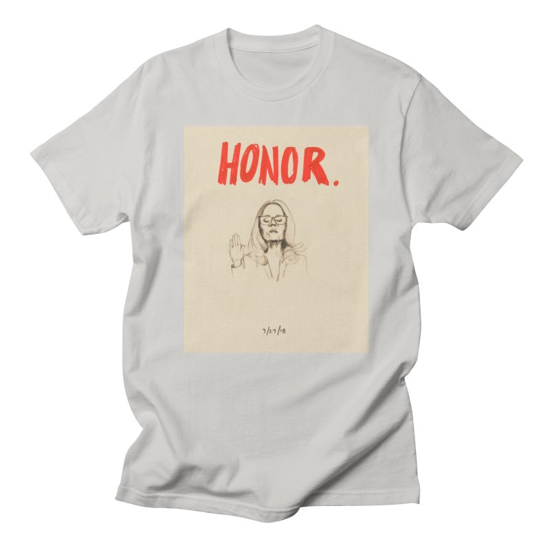 HONOR Men's T-Shirt by Jess Love