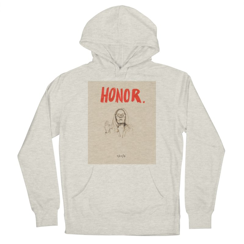 HONOR Women's French Terry Pullover Hoody by Jess Love
