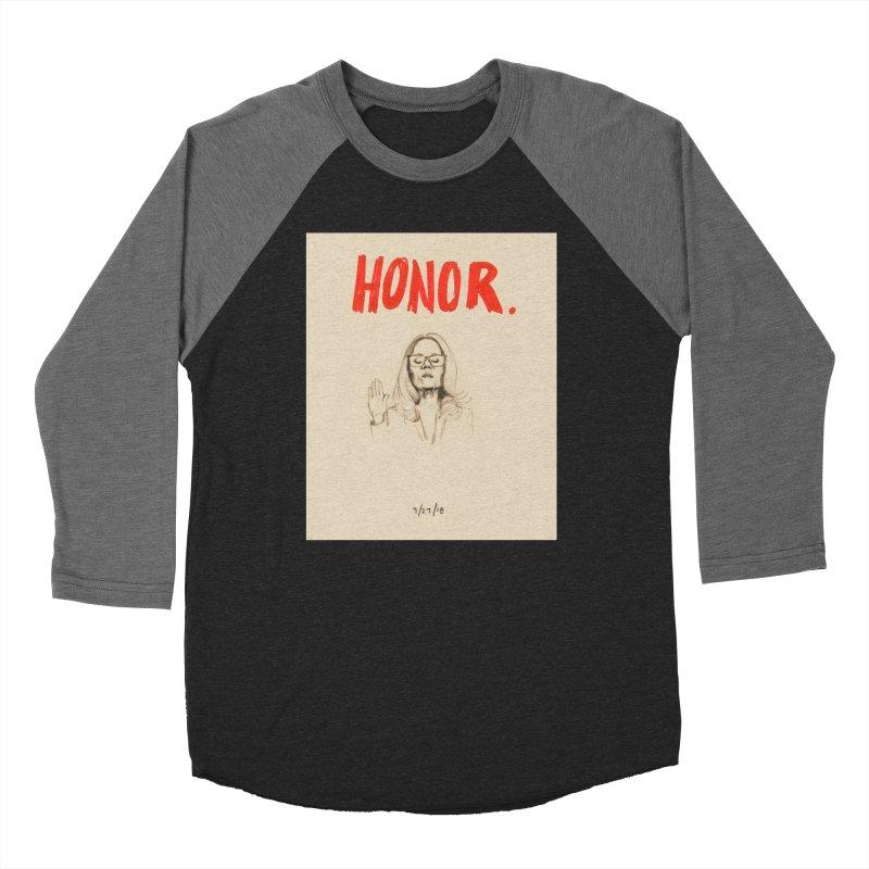 HONOR Women's Longsleeve T-Shirt by Jess Love