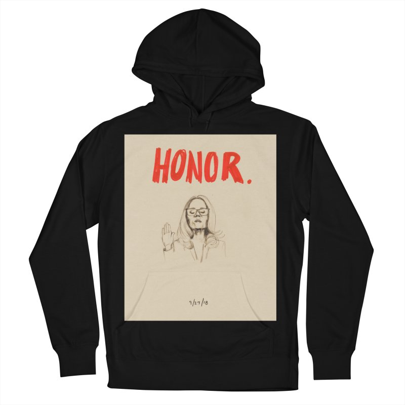 HONOR Men's French Terry Pullover Hoody by Jess Love