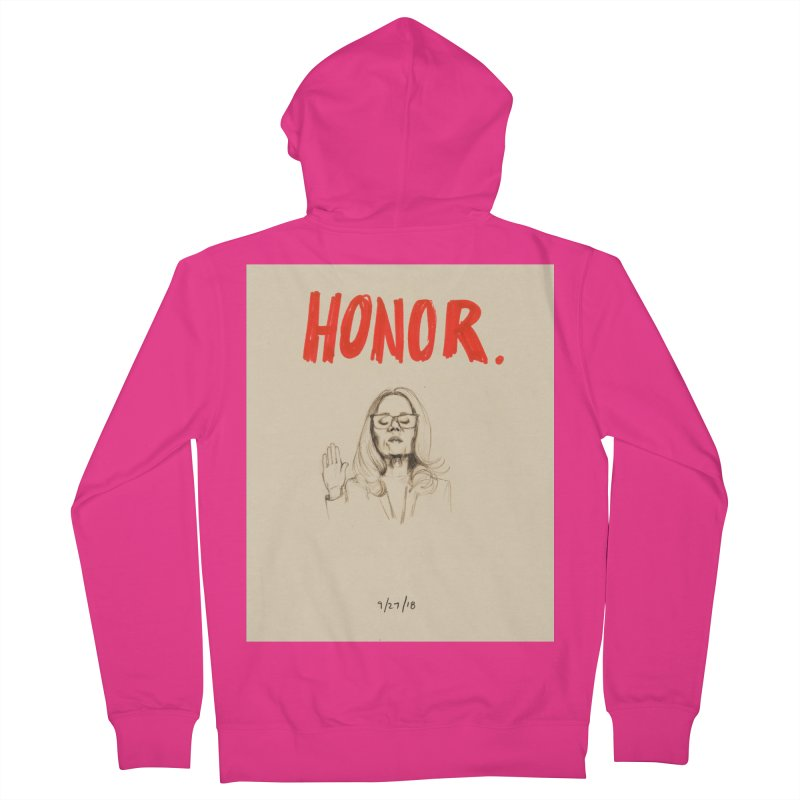 HONOR Men's French Terry Zip-Up Hoody by Jess Love