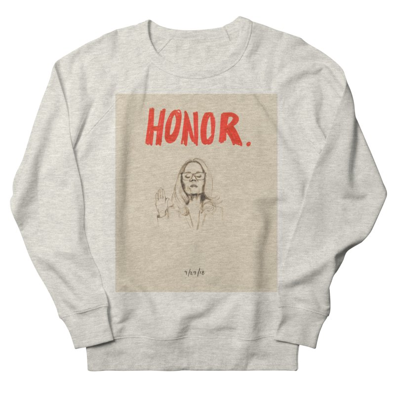 HONOR Men's French Terry Sweatshirt by Jess Love