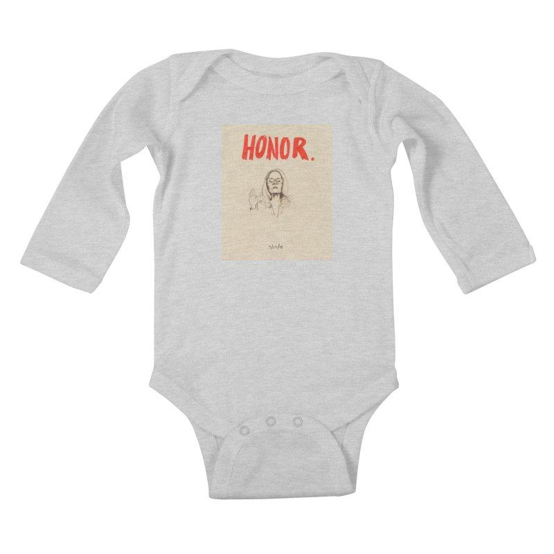 HONOR Kids Baby Longsleeve Bodysuit by Jess Love