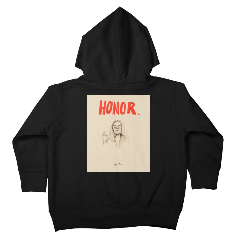 HONOR Kids Toddler Zip-Up Hoody by Jess Love