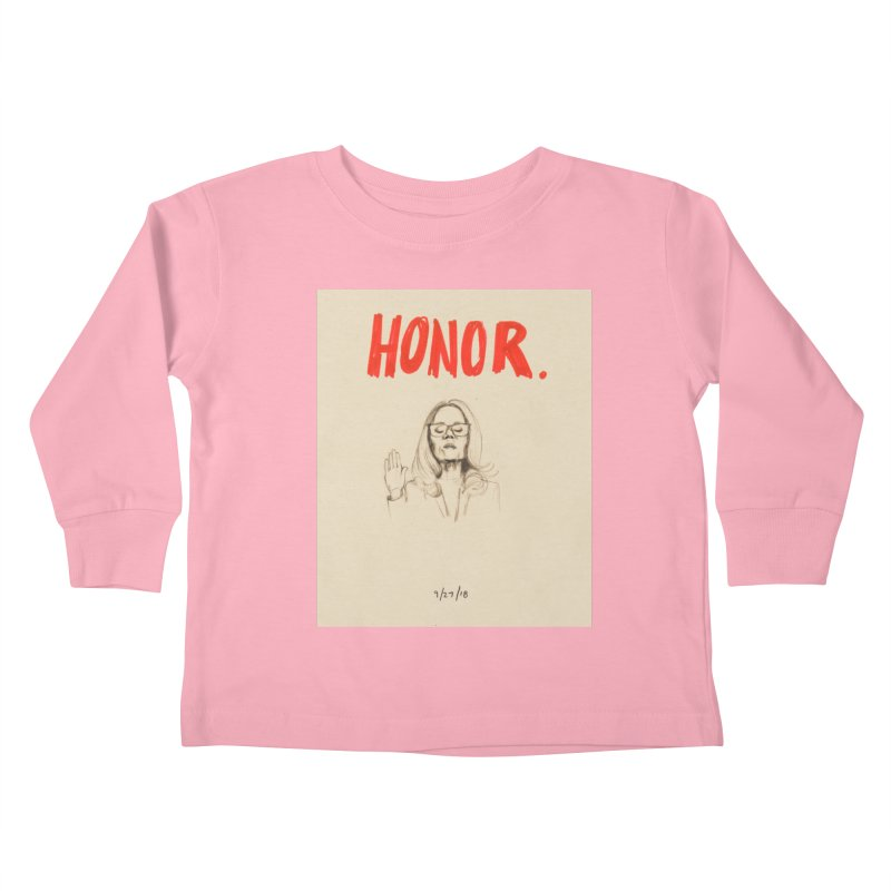 HONOR Kids Toddler Longsleeve T-Shirt by Jess Love