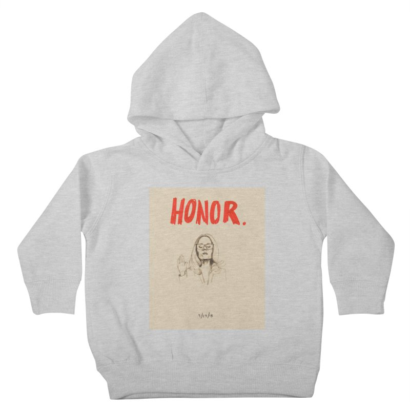 HONOR Kids Toddler Pullover Hoody by Jess Love