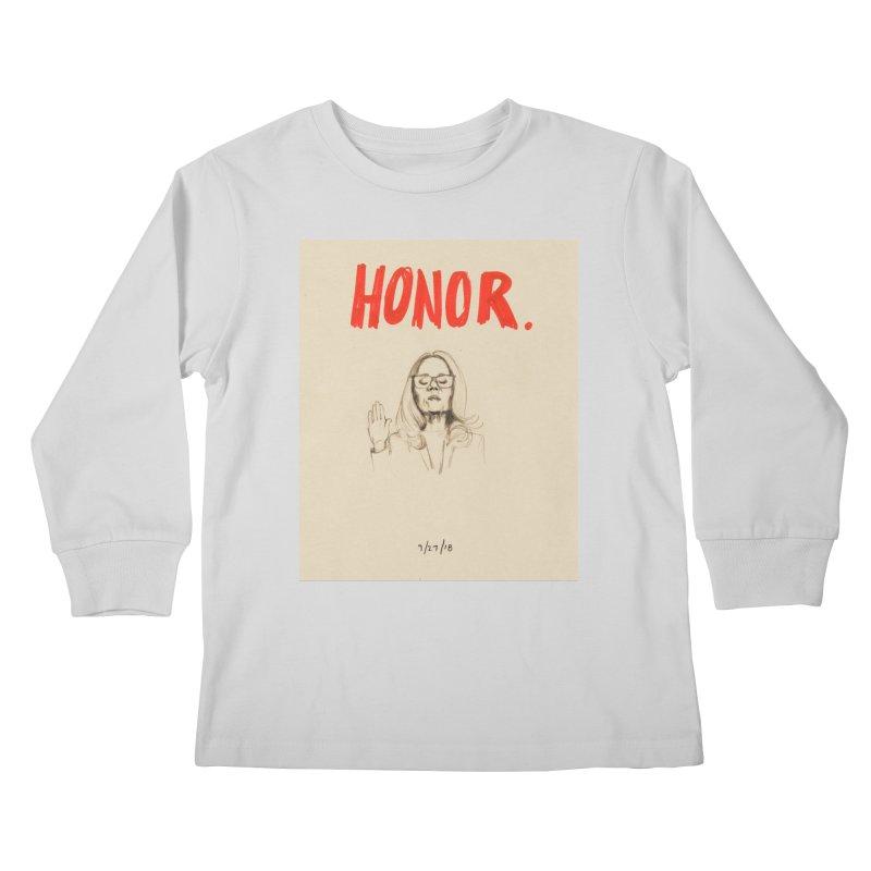 HONOR Kids Longsleeve T-Shirt by Jess Love