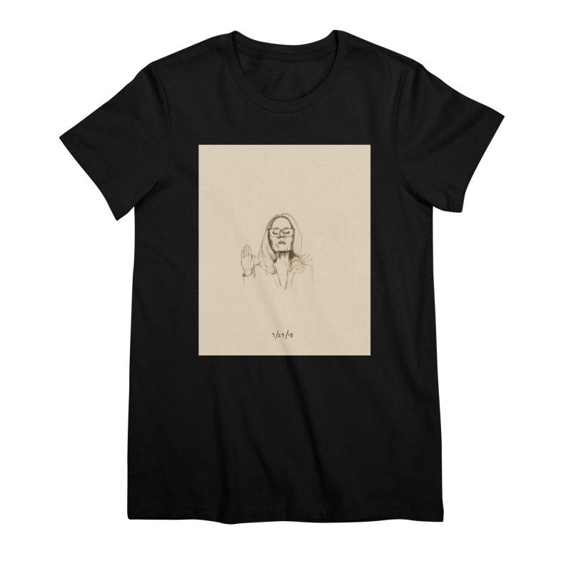 Dr. Christine Blasey Ford Women's Premium T-Shirt by Jess Love
