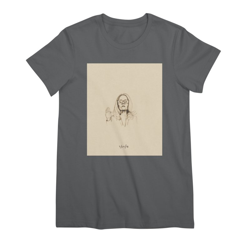 Dr. Christine Blasey Ford Women's T-Shirt by Jess Love