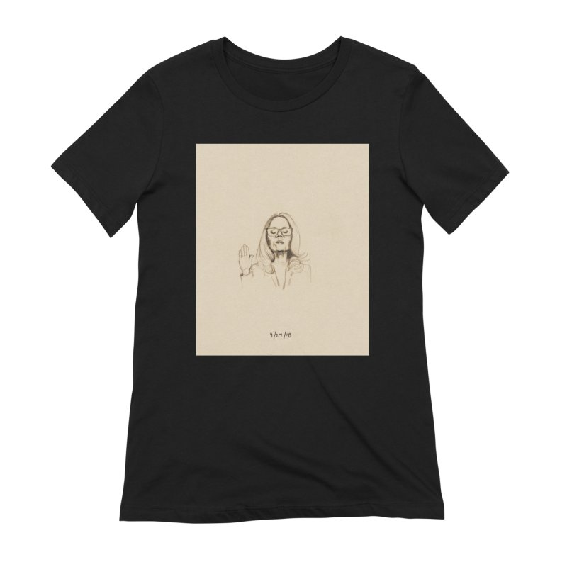Dr. Christine Blasey Ford Women's Extra Soft T-Shirt by Jess Love