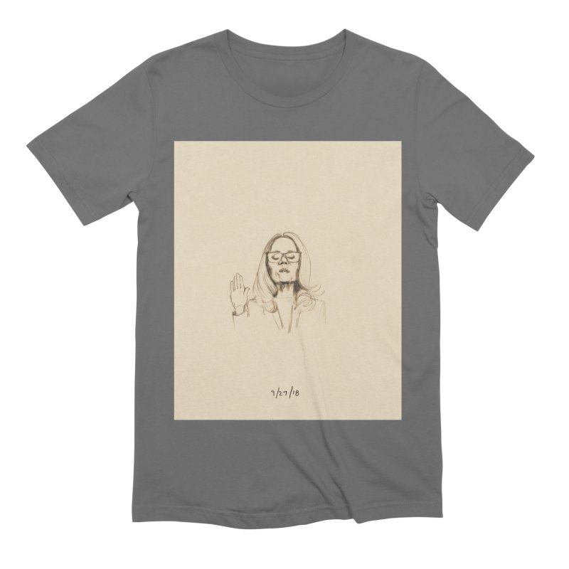Dr. Christine Blasey Ford Men's Extra Soft T-Shirt by Jess Love