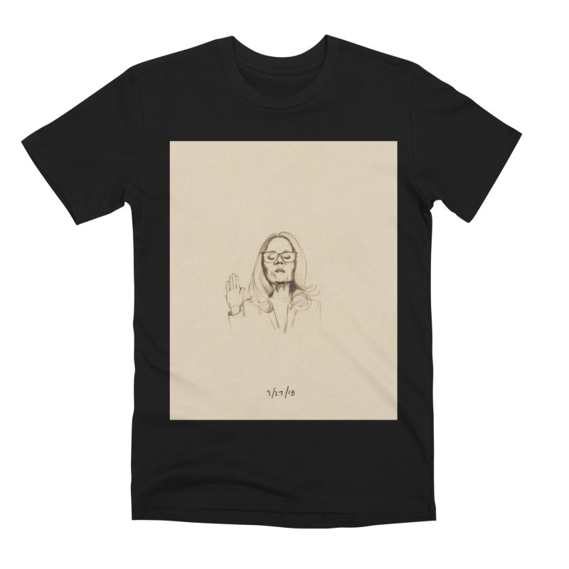 Dr. Christine Blasey Ford Men's Premium T-Shirt by Jess Love