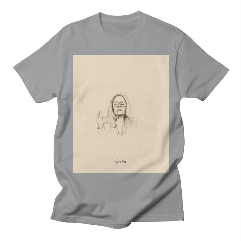 Dr. Christine Blasey Ford Men's Regular T-Shirt by Jess Love