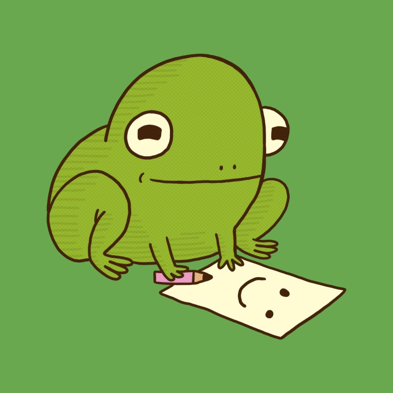 Creative Frog by Jess Murray's Shop