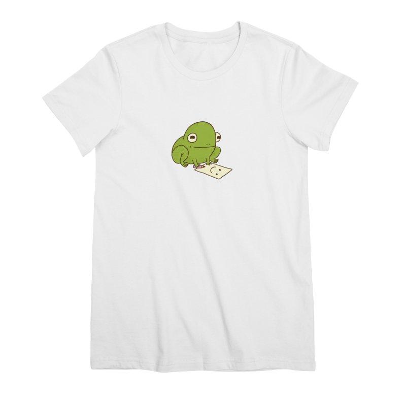 Creative Frog Women's Premium T-Shirt by Jess Murray's Shop