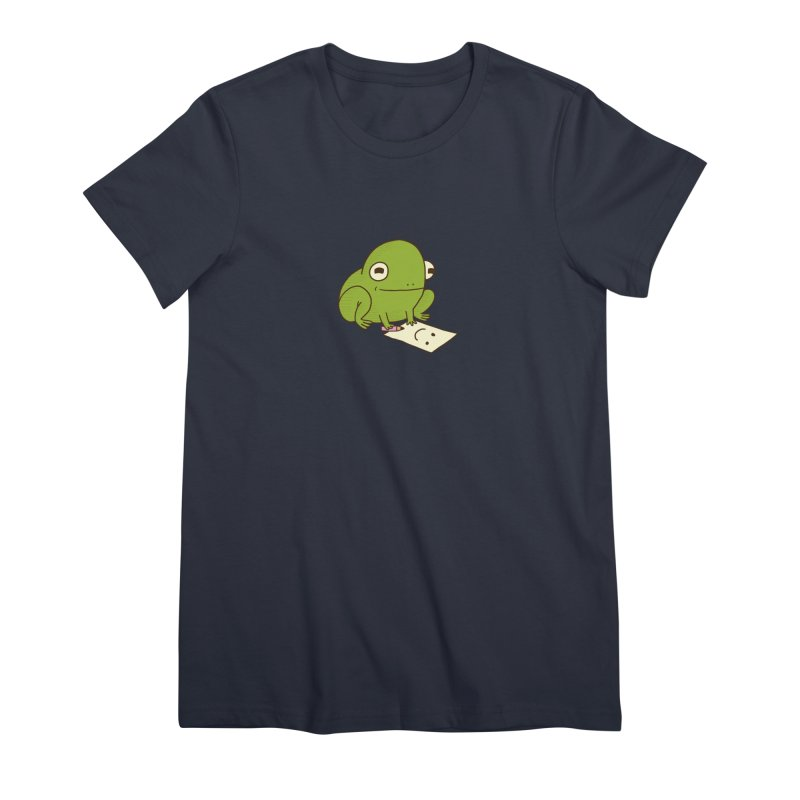 Creative Frog Women's Premium T-Shirt by Jess Murray's Shop