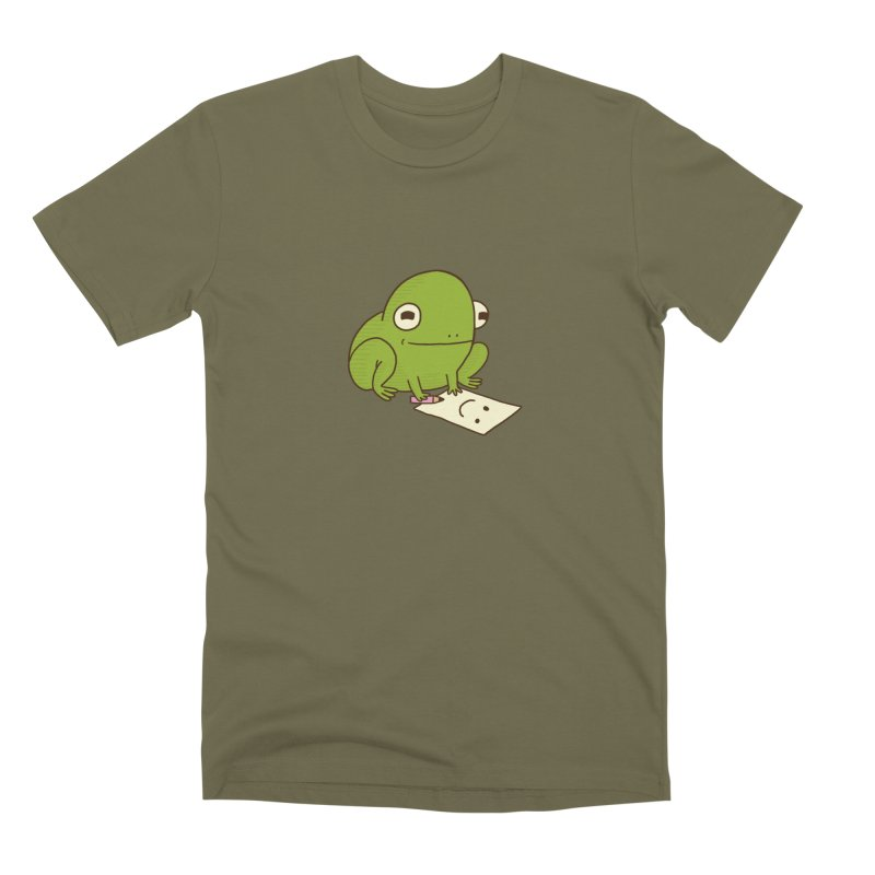 Creative Frog Men's Premium T-Shirt by Jess Murray's Shop