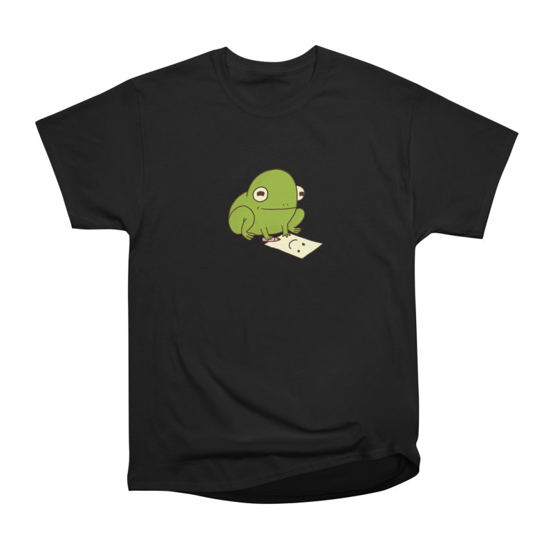 Creative Frog Women's Heavyweight Unisex T-Shirt by Jess Murray's Shop
