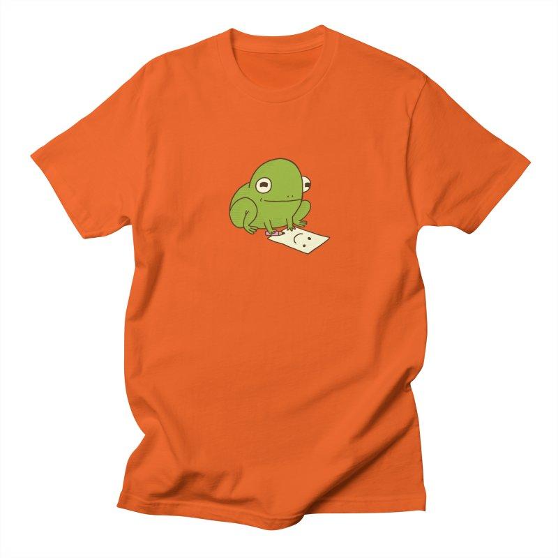 Creative Frog Women's Regular Unisex T-Shirt by Jess Murray's Shop
