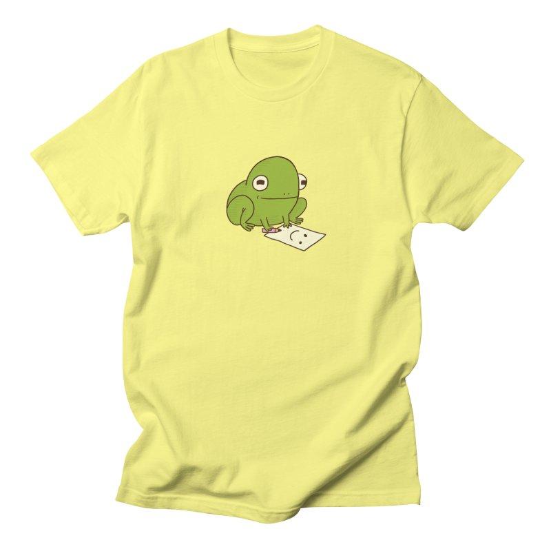 Creative Frog Men's Regular T-Shirt by Jess Murray's Shop