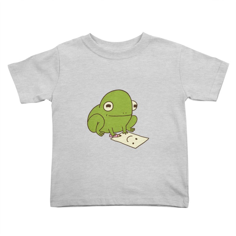 Creative Frog Kids Toddler T-Shirt by Jess Murray's Shop