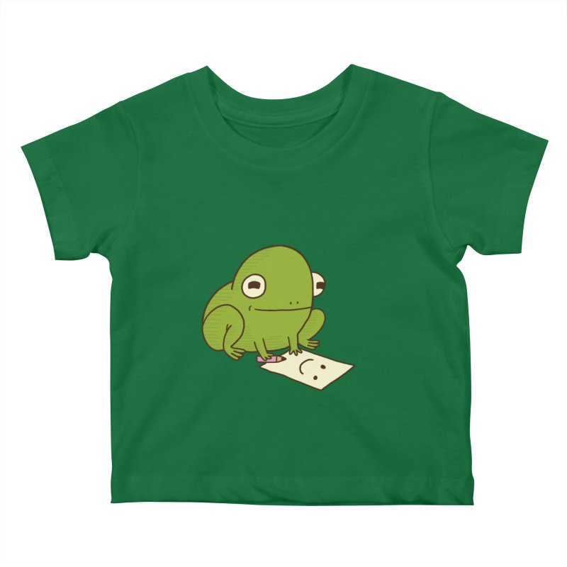 Creative Frog Kids Baby T-Shirt by Jess Murray's Shop