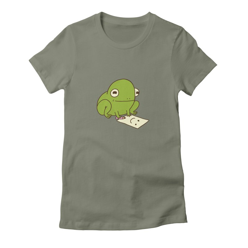 Creative Frog Women's Fitted T-Shirt by Jess Murray's Shop
