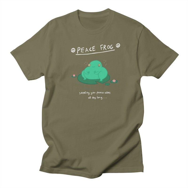 Peace Frog Men's T-shirt by Jess Murray's Shop