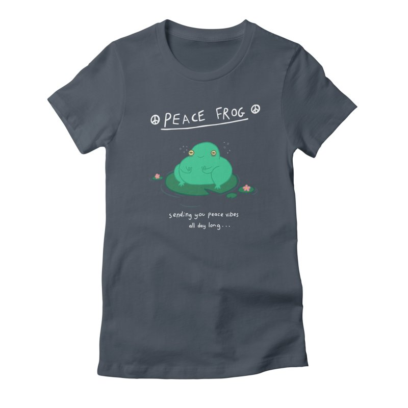 Peace Frog Women's T-Shirt by Jess Murray's Shop