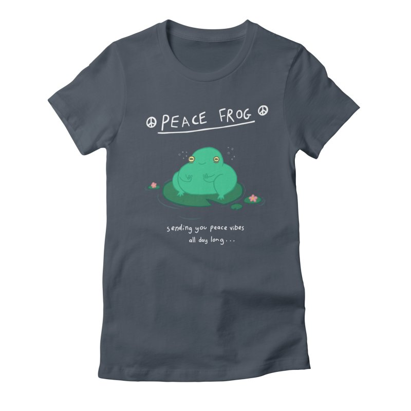 Peace Frog Women's T-Shirt by Jess Murray's Shop