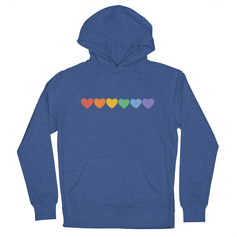 Hearts Men's Pullover Hoody by Welcome to Jess Murray's Art Store