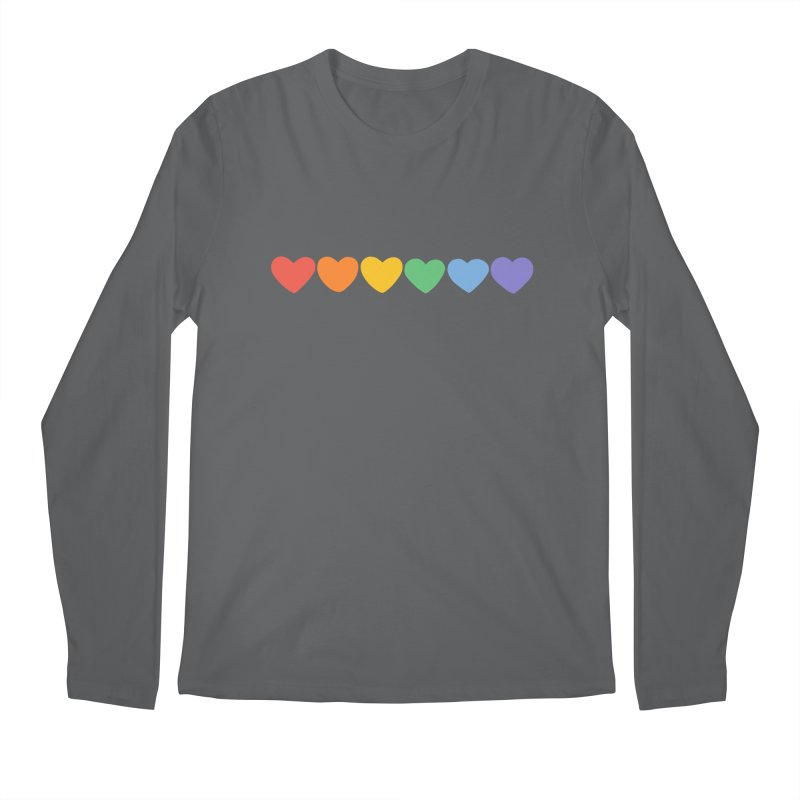 Hearts Men's Longsleeve T-Shirt by Jess Murray's Shop