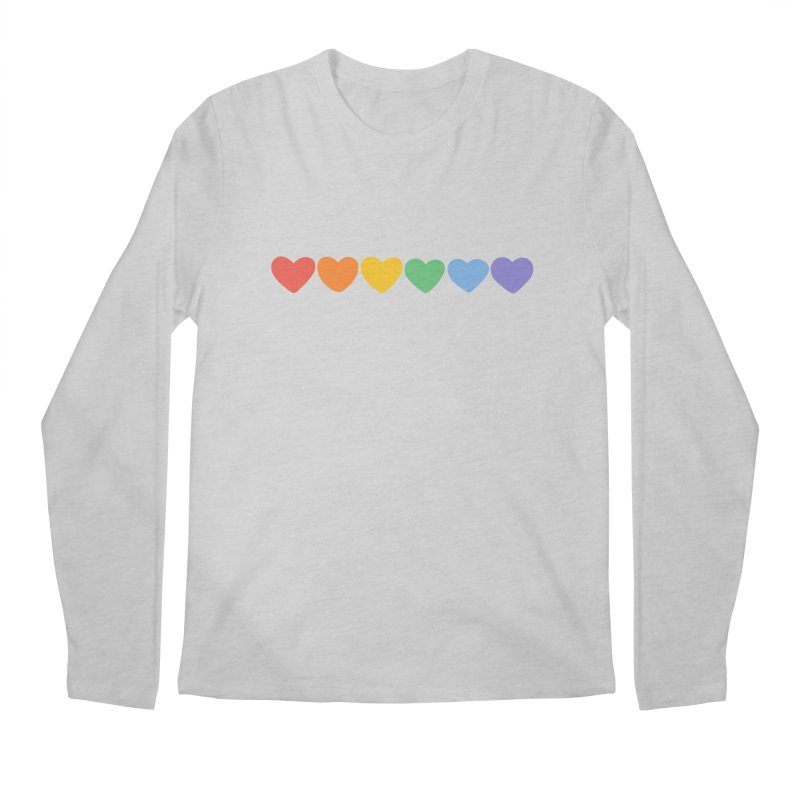 Hearts Men's Longsleeve T-Shirt by Welcome to Jess Murray's Art Store