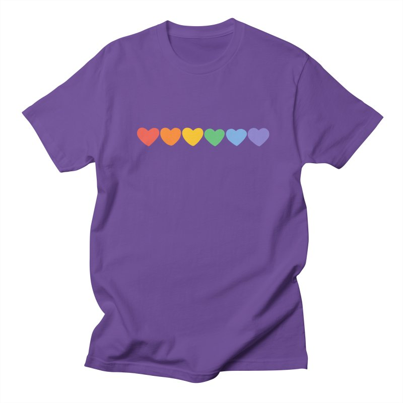 Hearts Men's T-shirt by Jess Murray's Shop