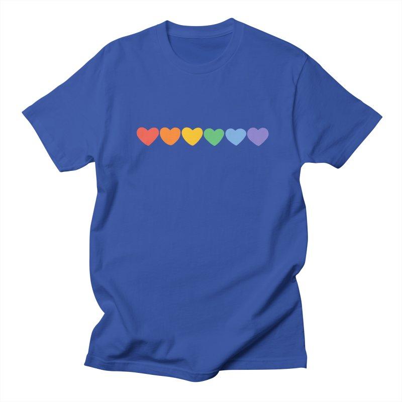Hearts Men's Regular T-Shirt by Jess Murray's Shop