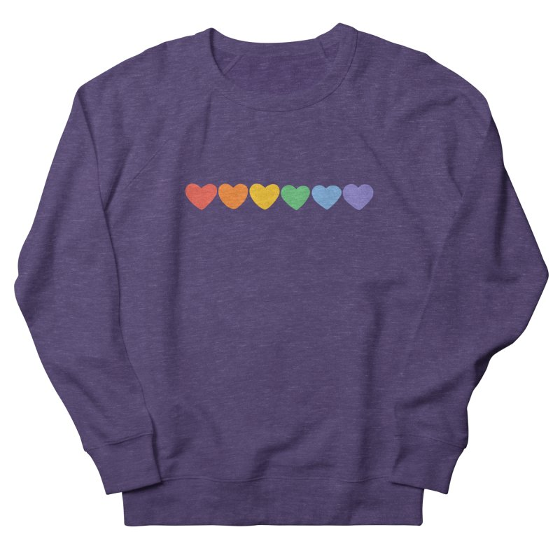 Hearts Men's French Terry Sweatshirt by Jess Murray's Shop